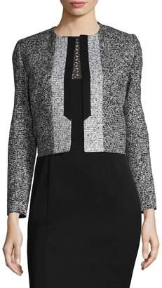 Carolina Herrera Women's Cropped Cotton Jacket