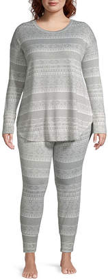 Ambrielle Thermal Pajama Set- Plus