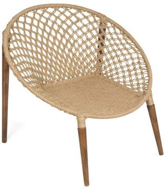 Stella Jute Woven Occasional Lounge Chair