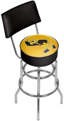 Trademark Gameroom University of Iowa Swivel Bar Stool With Back