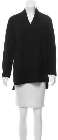 Helmut LangHelmut Lang V-Neck Long Sleeve Sweater
