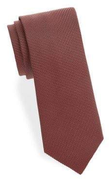Eton Checkered Silk Tie