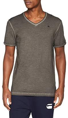G Star Men's Belfurr Mf Neck V T S/s T-Shirt