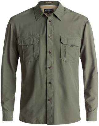 Quiksilver Waterman Trailblazing Long-Sleeve Button-Down Shirt - Men's