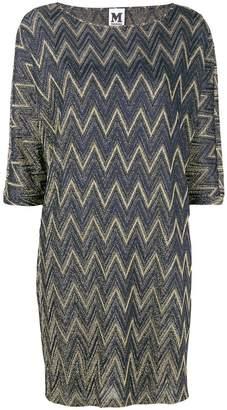 M Missoni metallic sheen shift dress