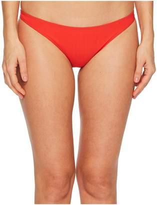 Tory Burch Swimwear Solid Low Rise Hipster Bottom Women's Swimwear