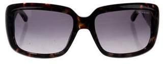 Saint Laurent Gradient Square Sunglasses