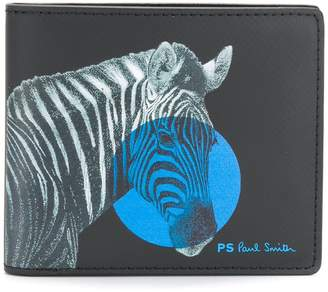 Paul Smith zebra print wallet