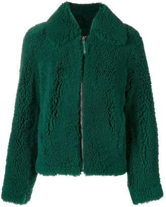 Cédric Charlier shearling coat