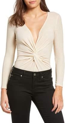 Leith Sparkle Twist Front Bodysuit