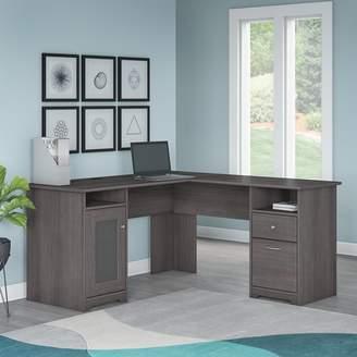 Hillsdale Red Barrel Studio L-Shaped Computer Desk