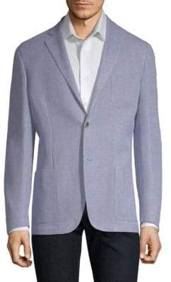Corneliani Slim Fit Textured Knit Sportcoat