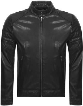 Gelimi Leather Jacket Black