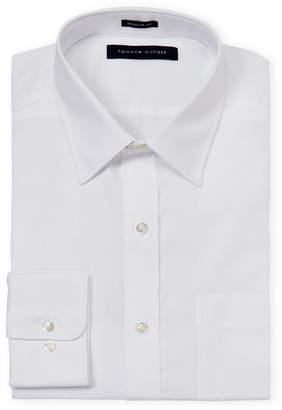 Tommy Hilfiger Regular Fit Long Sleeve Dress Shirt