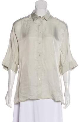 Joseph Short Sleeve Button-Up