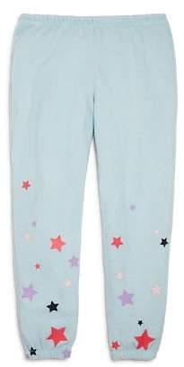 Chaser Girls' Starry Knit Jogger Pants - Little Kid, Big Kid