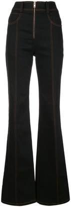 Proenza Schouler High Waisted Denim Trousers