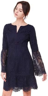 Tulsa Guipure Lace Bell Sleeve Dress