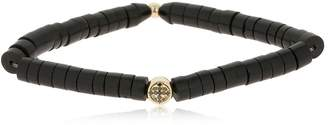 Luis Morais Jerusalem Cross W/ Diamonds Bracelet