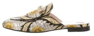 Gucci Princetown Brocade Mules