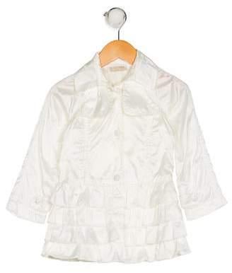 MonnaLisa Girls' Ruffle Jacket