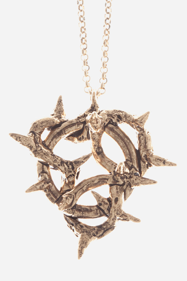 Chrishabana THORN PATCH NECKLACE