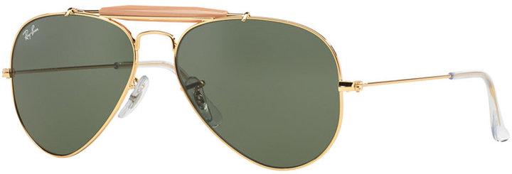 Ray-Ban Sunglasses, RB3407 OUTDOORSMAN Li