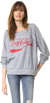 Wildfox Coca Cola Sweater $108 thestylecure.com