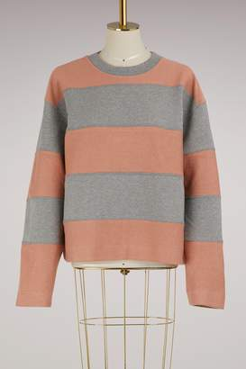 Acne Studios Diana cotton sweatshirt