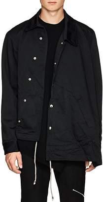 Comme des Garcons Men's Crepe Asymmetric Coach's Jacket