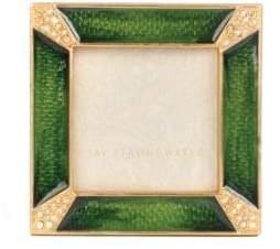 Jay Strongwater Classics Pavé Corner Square Frame
