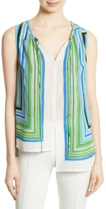 Women's Tracy Reese High/low Shirt $228 thestylecure.com