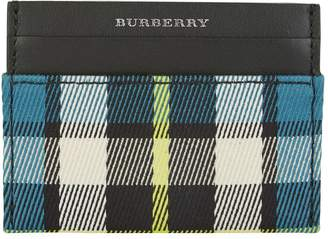 Burberry Tartan Check Card Holder