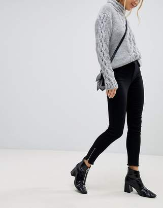 Jdy Jeans With Ankle Zip
