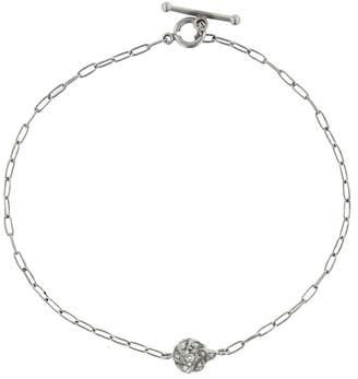 Cathy Waterman Diamond Rose Bracelet - Platinum