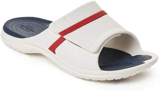 Crocs White & Navy Modi Sport Slides