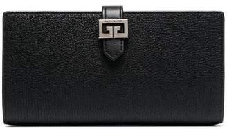 Givenchy Black GV3 large wallet