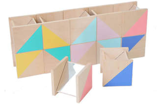 Kiko+ Ditto Wooden Construction Game With Mirrors