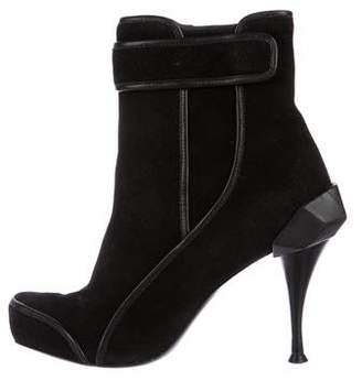 Celine Suede Ankle Boots