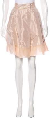 Chloé Knee-Length Satin Skirt