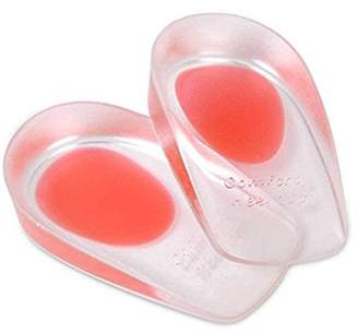 Beautyko Heel Pain Inserts Silicone Insole Pads Heel Cups Protectors