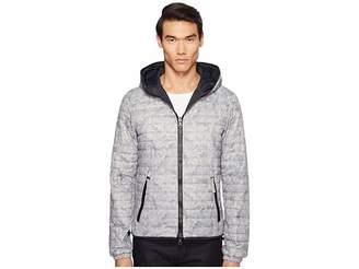 Duvetica Dragotre Hooded Reversible Light Down Jacket Men's Coat
