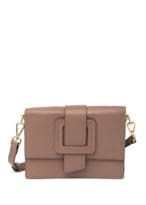 TMRW STUDIO Carl Leather Crossbody Bag