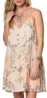 Women's O'Neill Hazel Floral Print Dress $46 thestylecure.com