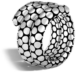 Women's John Hardy Dot Double Coil Ring $495 thestylecure.com
