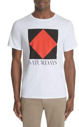 Saturdays NYC Diamond Graphic T-Shirt