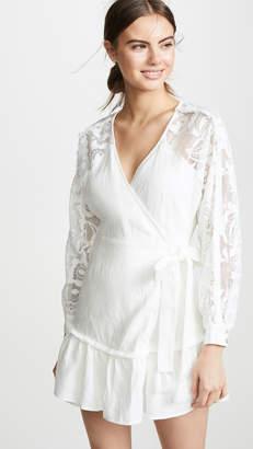Suboo Novella Lace Insert Wrap Dress