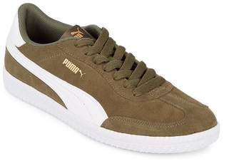 Puma Men's Round Toe Lace-Up Sneakers