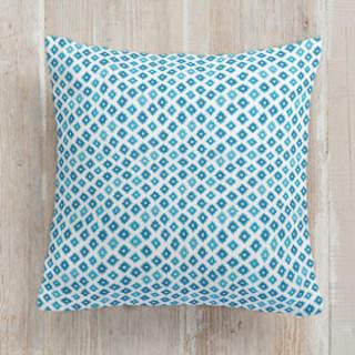 Santa Fe Flourishes Square Pillow