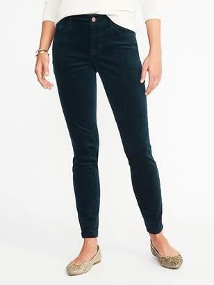 Old Navy Mid-Rise Velvet Rockstar Pants for Women
